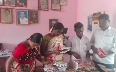 Biblioteca per l'escola Parameswar d'AJUTSI