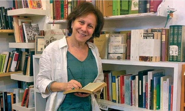 Lucía Pelegrín i la família solidària del carrer Astúries 78. Article sobre AIDA BOOKS
