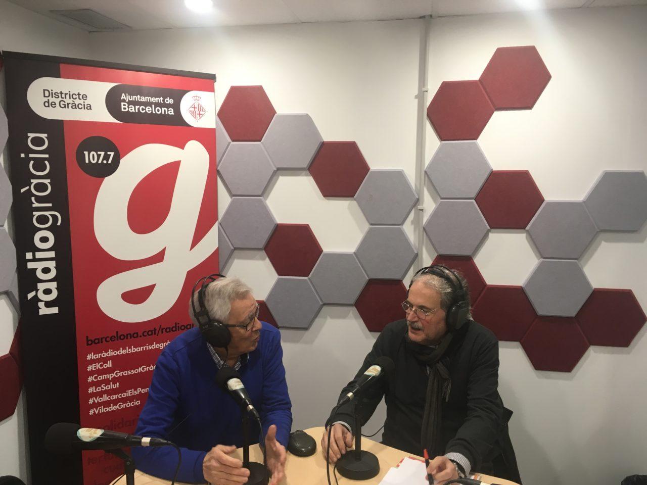 Entrevista a Frederic Callís a Ràdio Gràcia