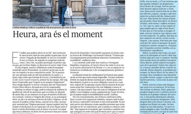 Heura, ara és el moment – L'INDEPENDENT DE GRÀCIA