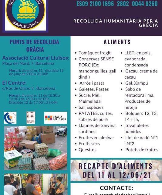 Recollida humanitària per Grècia